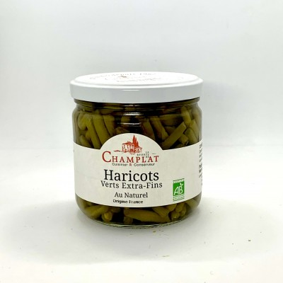 Haricots verts extra-fins...